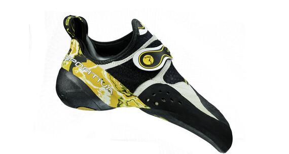 La Sportiva Solution - Chaussures d'escalade - jaune/noir